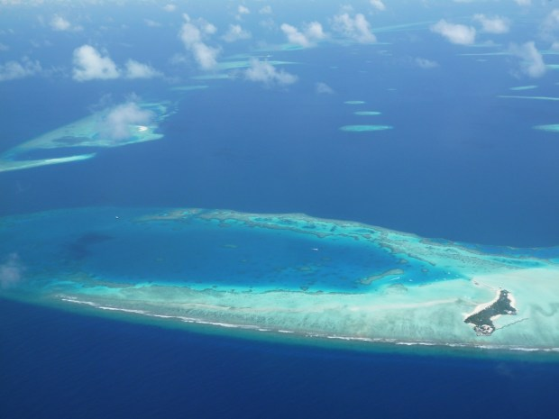 MALDIVES: SCENERY