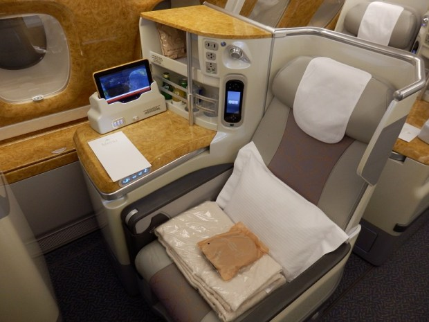 AISLE BUSINESS CLASS SEAT