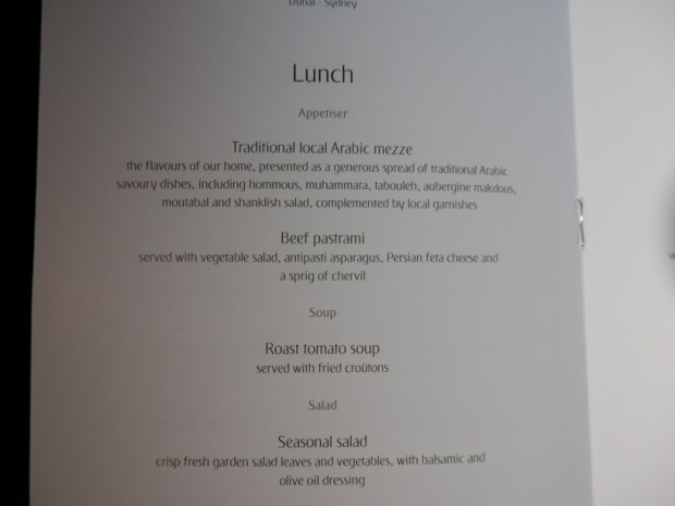 MENU - LUNCH