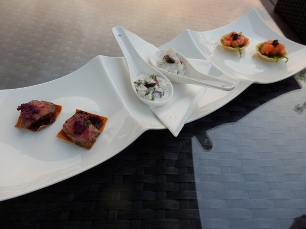 CANAPES AT SUNSET