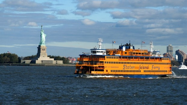 RIDE THE STATEN ISLAND FERRY