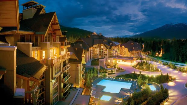 FOUR SEASONS RESORT WHISTLER, BRITISH COLUMBIA