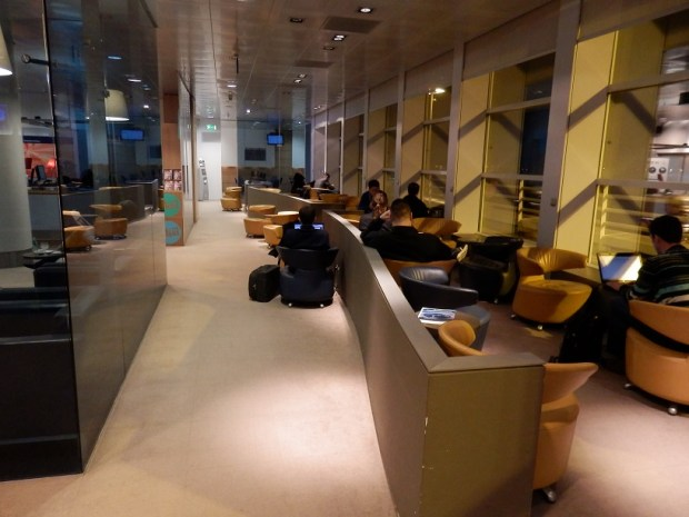 STAR ALLIANCE LOUNGE AT BRUSSELS INTERNATIONAL AIRPORT