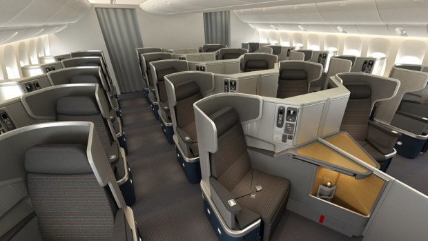 AMERICAN AIRLINES B777-300ER BUSINESS CLASS