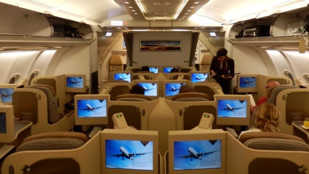 ETIHAD AIRWAYS A330 BUSINESS CLASS