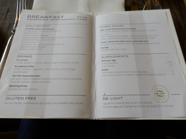 BRIDGES RESTAURANT: BREAKFAST