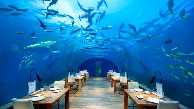 INDULGE IN CAVIAR UNDERWATER AT CONRAD MALDIVES RANGALI ISLAND