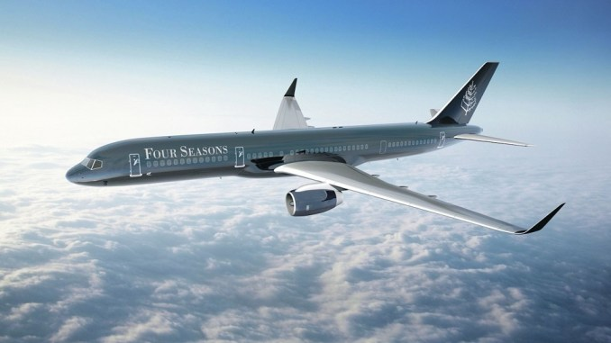 BE PAMPERED BY EXCEPTIONAL FOUR SEASONS SERVICE AT 30,000 FEET