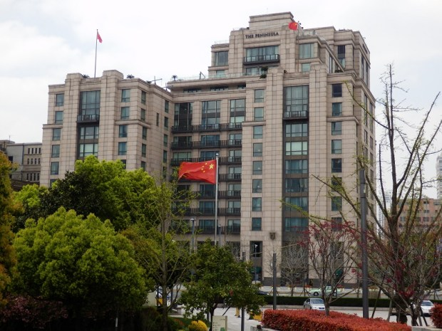 HOTEL EXTERIOR (AS SEEN FROM BUND)