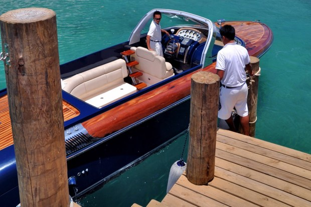 BOAT TRANSFER FROM AIRSTRIP TO RESORT