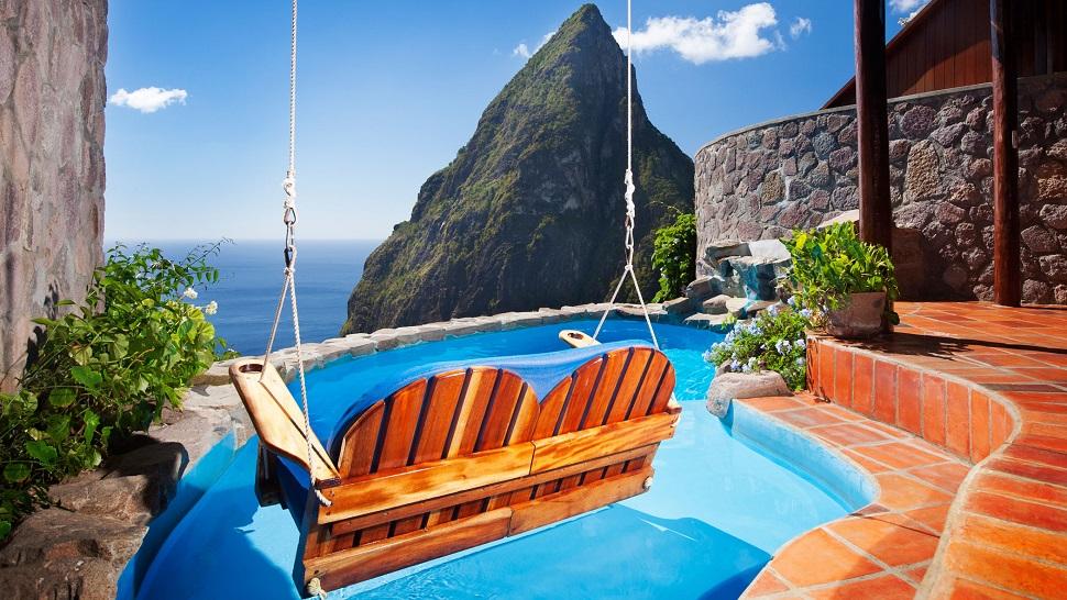 Resultado de imagen para Ladera Resort, Santa Lucía