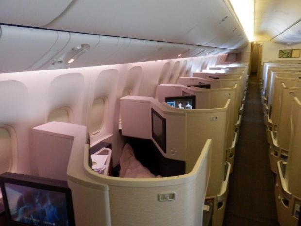LARGE BUSINESS CLASS CABIN