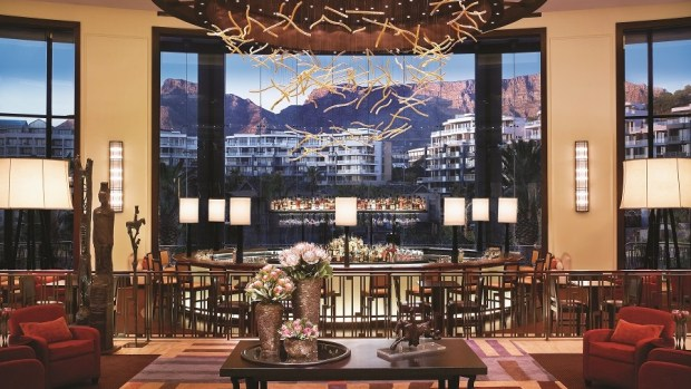 LOBBY WITH VIEW OF TABLE MOUNTAIN