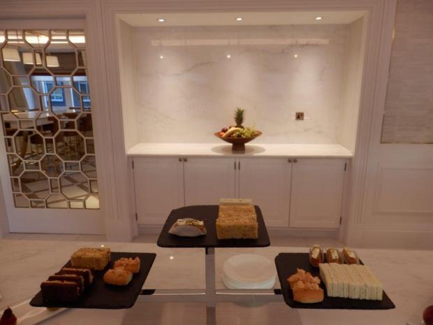 THE LANGHAM CLUB LOUNGE: AFTERNOON TEA