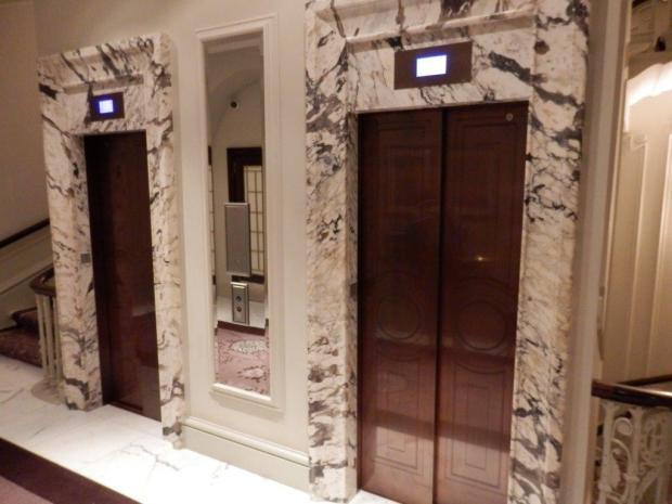 LOBBY: ELEVATORS