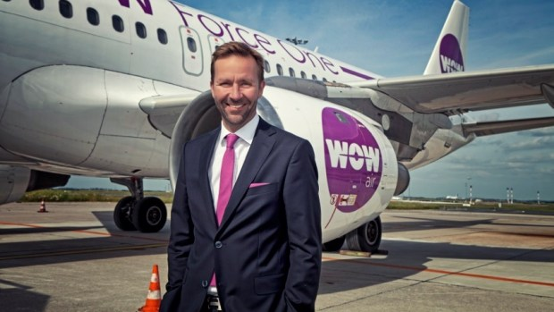 WOW AIR CEO SKULI MOGENSEN