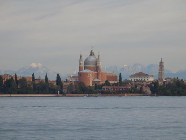 VIEW ON VENICE'S SKYLINE FROM THE HOTEL (ZOOM)