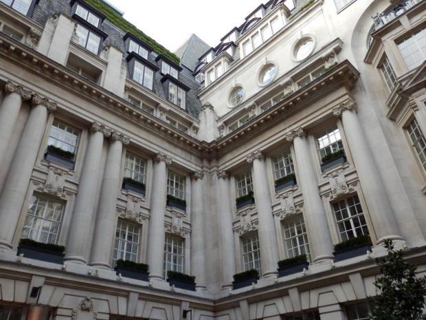 HOTEL'S INNER COURTYARD