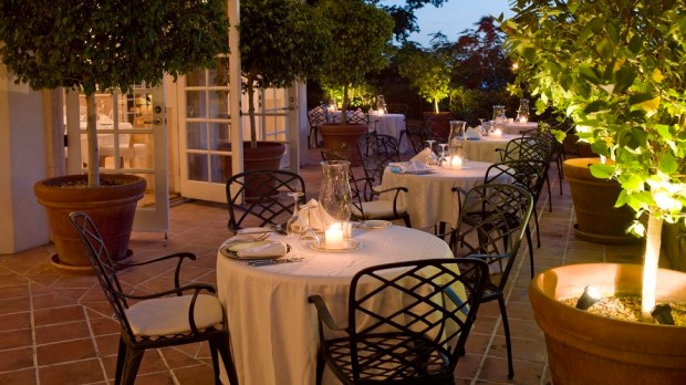 TERRACE RESTAURANT - OUTDOOR SEATING