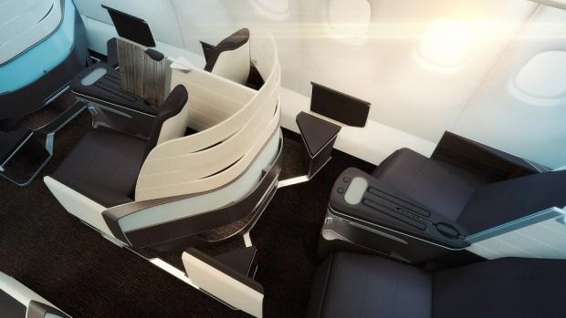 HAWAIIAN'S A330 NEW FIRST CLASS SEAT
