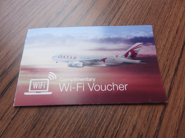 COMPLIMENTARY WIFI VOUCHER