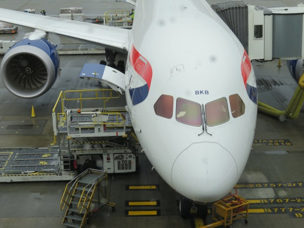 BRITISH AIRWAYS B787-9 DREAMLINER