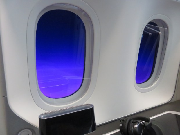 ELECTROCHROMIC DIMMING OF THE WINDOWS