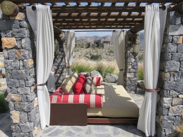 OUTDOOR POOL: CABANAS