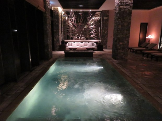 INDOOR POOL (AT NIGHT)
