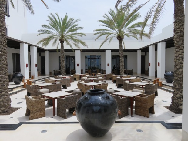THE RESTAURANT COURTYARD