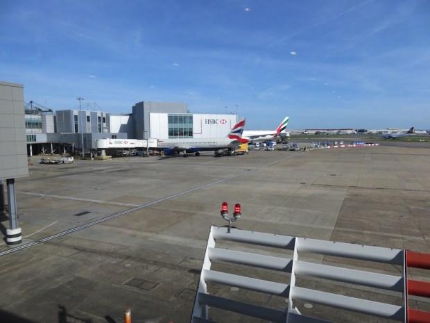 BRITISH AIRWAYS LOUNGE AT HEATHROW T3