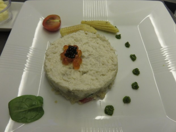 WESTERN MENU: SNOW CRAB MEAT TIMBALE