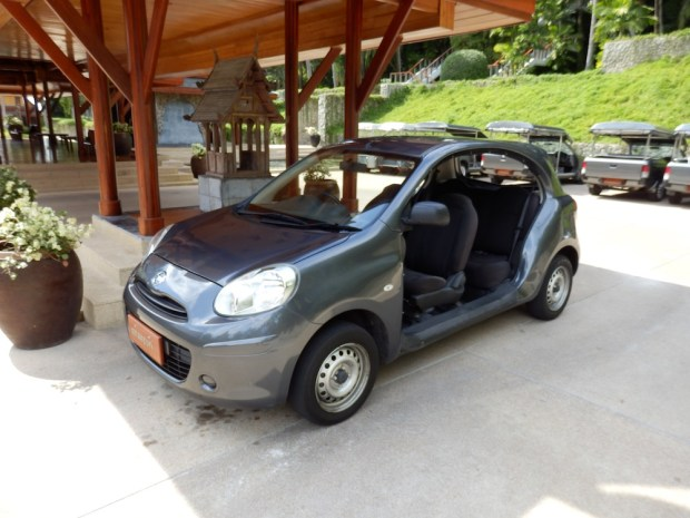 MINI-CAR TO TAKE GUESTS AROUND
