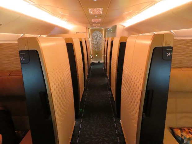 ETIHAD AIRWAYS - FIRST CLASS CABIN