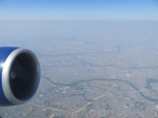 FLIGHT PATH: SCENERY ABOVE TOKYO