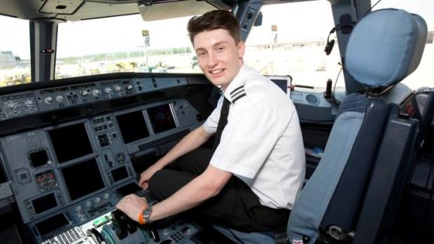 LUKE ELSWORTH IS THE UK'S YOUNGEST PILOT
