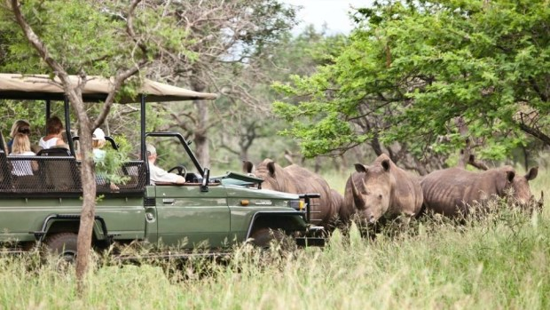 RHINO RIVER LODGE, SOUTH AFRICA