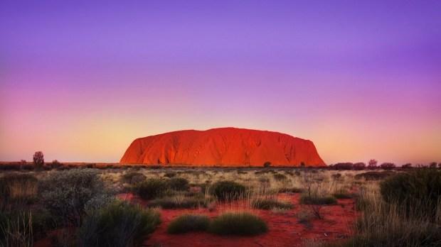 ULURU, AUSTRALIA