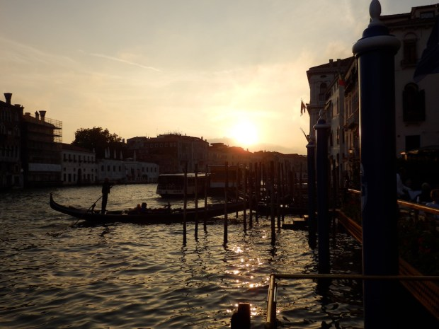 CANAL GRANDE: SUNSET