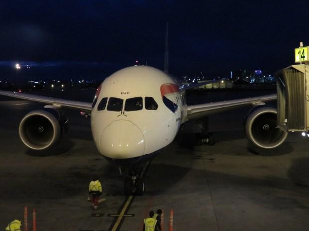 BRITISH AIRWAYS B787-8