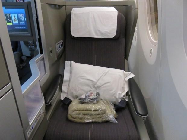 BUSINESS CLASS SEAT 3K