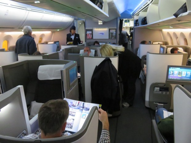 BUSINESS CLASS CABIN (BOARDING)
