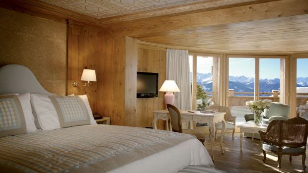 LECRANS HOTEL & SPA, VALAIS (SWITZERLAND)