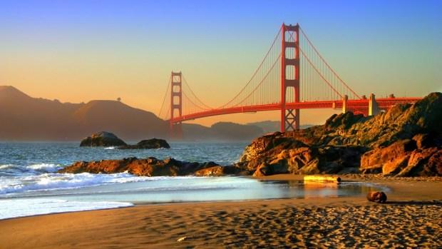 BAKER BEACH, SAN FRANCISCO (USA)
