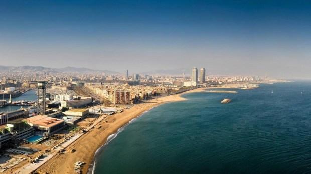 BARCELONETA BEACH, BARCELONA (SPAIN)