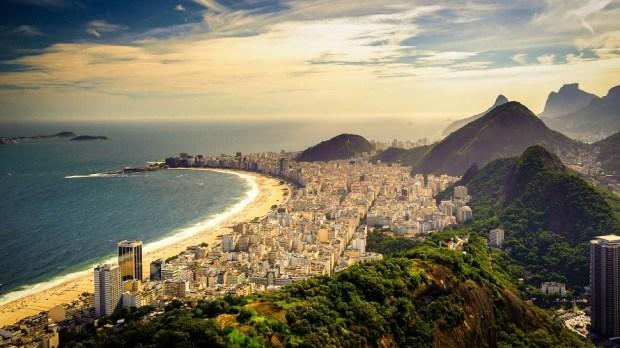 COPACABANA BEACH, RIO DE JANEIRO (BRAZIL)