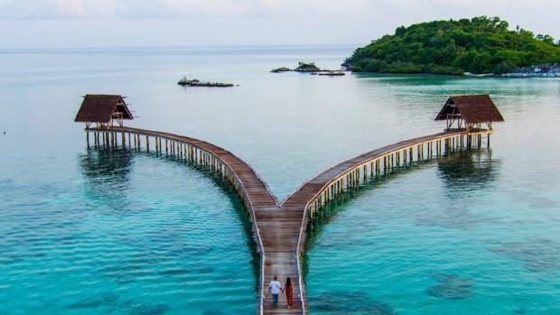 BAWAH PRIVATE ISLAND, INDONESIA
