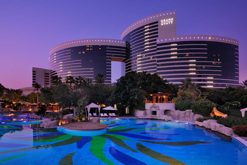Hotel Review Grand Hyatt Dubai United Arab Emirates The Luxury