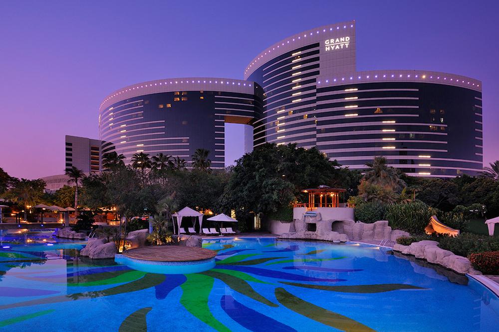 Hotel Review Grand Hyatt Dubai United Arab Emirates The Luxury
