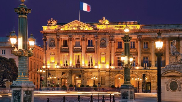 HOTEL DE CRILLON, PARIS, FRANCE